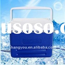 8L plastic camping outer door ice cooler box