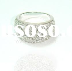 925 sterling silver CZ rings, fashion design jewelry
