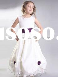 Ball Gown Organza Floor-length Sleeveless Flower Girl Dresses
