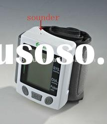 CE approved speech Blood pressure monitor wrist