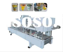 CFD-6 water cup filling and sealing machine