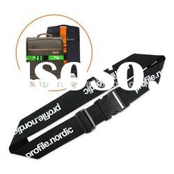 Custom luggage belt with Screen Printed Logo