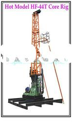 Drilling rigs for sale---Hydraulic HF-44T diamond core drilling rig