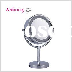 Electric Metal Makeup Mirror with double side