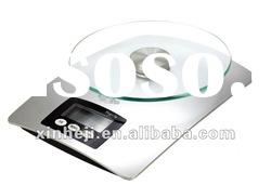 Excellent glass plate health & environmental plastic kitchen scale