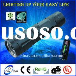 Explosion Proof Cree Aluminum Flashlight