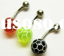 Fancy piercing body jewelry stainless steel navel body piercing jewelry
