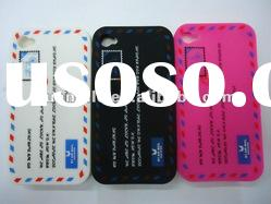 For apple iphone 4 stamp pattern soft case