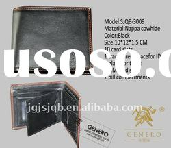 GENUINE LEATHER WALLET FOR MEN WITH ANTI-BACTERIAL WALLET