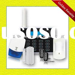 GS-G80AE GSM Home burglar alarm system with GSM network China manufacturer