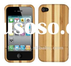 Genuine Natural Bamboo Wood Case for iphone 4S 4 4G