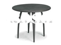 High Synthetic Outdoor Rattan Dining Table LG06-6009
