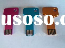 Hot Hot promotional metal key shaped usb promotional gift with your customized logo printing