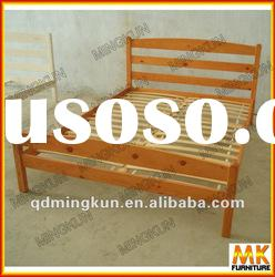 KD furniture wooden double bed