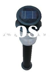 LED solar decorative lawn lights with steel