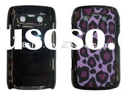 Leopard Silicon Gluing Hybrid Hard Case For BlackBerry 9360 9350 9370