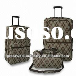 Luggage Set with Trolley Case and Duffel Bag, Made of 600D Polyester
