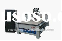 M25S two heads woodworking cnc router 4 axis