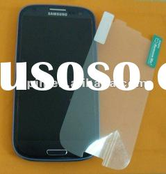 Matte anti-fingerprint screen guard protector for Samsung Galaxy S3 i9300