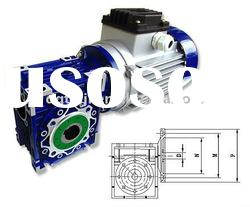 NMRV DC motor with gearbox