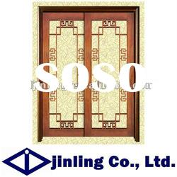 Newest Type Wood Door Design, Eco-friendly Wood Door and Window Design
