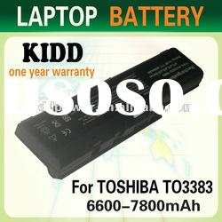 Notebook Batteries For Toshiba Replace PA3383U
