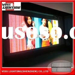 P12 indoor transparent SMD3in1 led curtain display