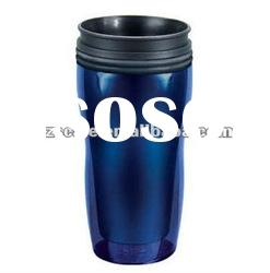 PROMOTION!!! GOOD Heat preservation effect Wave plastic auto cup not with handle