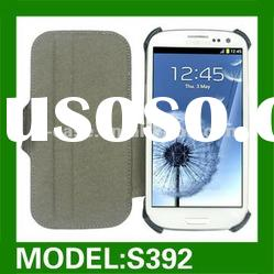 PU leather case for samsung galaxy S3 i9300 leather case