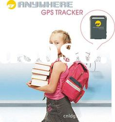 Personal gps gprs Tracker device with shake sensor, using the original import ARM CPU chip