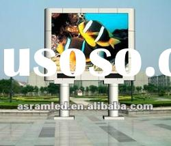 Pixel pitch 16mm led advertising billboards outdoor displays