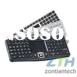 Popular design Mini Wireless 2.4Ghz keyboard with touchpad