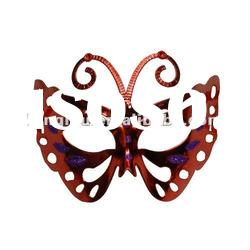 Popular red butterfly carnival masks for masquerade of party favors