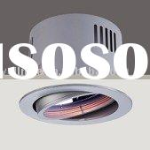 Round QR-LP111 50W recessed down light with different Sizes