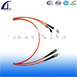 ST connector/MM,Duplex fiber optic patch cable