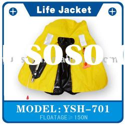 Safety Inflatable Life Vest 150N