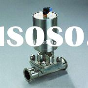 Sanitary Stainless Steel Pneumatic Diaphragm Valve 316L