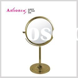Stand make up mirror with double sided,other side 3X magnify