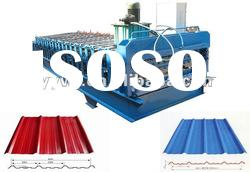 TY840/860 automatic double layer roof panel tile making roll forming machine