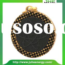 The gold globe 316l stainless steel pendant JHE1127