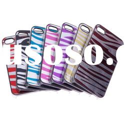 Twinkling Zebra Pattern Hard Cover Shell Case For iPhone 4G