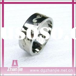 Wholesale in stock fashion stainless steel ring