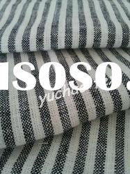 Yarn Dyed Linen-Rayon Blended Stripe Fabric