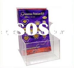 acrylic brochure stand used brochure holders stand