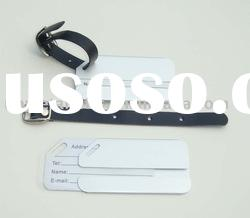 aluminum bussiness luggage tag