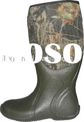 camouflage rubber neoprene hunting boots