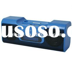 digital speaker box for iPod/iPhone to support USB/TF card with LED display