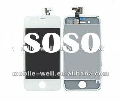 for apple iphone 4g lcd digitizer and glass Len with a price list of manufacture