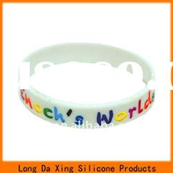 high quality and hot sale silicone bracelets