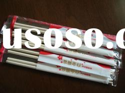 high quality mao bamboo round chopsticks with OPP packing